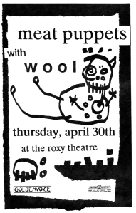 Wool (featuring Franz and Peter Stahl) at the Roxy Theatre, LA, CA